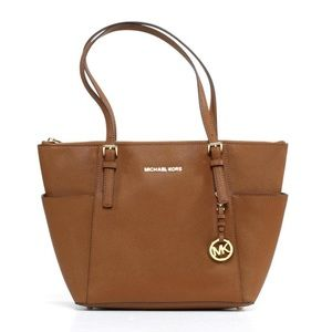 "Michael Kors Jet Set in ""Luggage"""